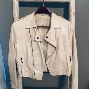 Chelsea and Violet faux leather jacket